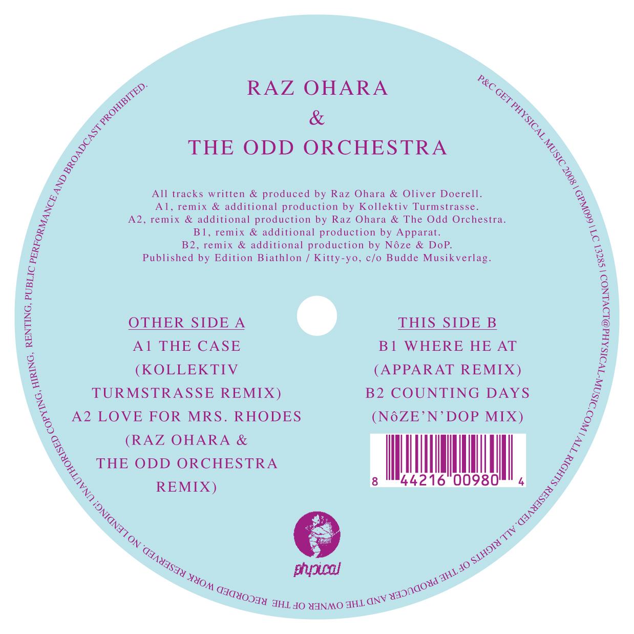 Raz Ohara - Various Remixes