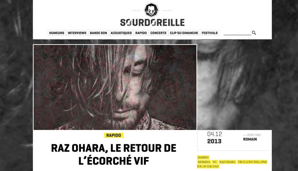 Sourdoreille - Raz Ohara
